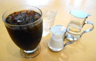 カフェ・ラ - アイスコーヒー