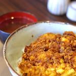 天きち - かき揚げ丼(1500円)