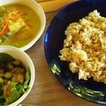 サンキング カフェ - 料理写真:スリランカカレー