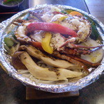 磯料理 味処 旬 - 伊勢海老の陶板焼き