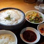 焼肉トラジ - 参鶏湯のランチ(期間限定)