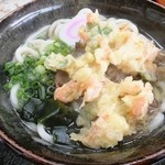うどんの釜屋 - 天ぷらうどん