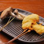 串ゆう - ヒラ茸(1本)120円