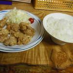 まるた - ザンギ定食 630円