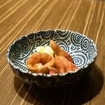 30693807 - 2014.8 鶏レバー漬け(280円)