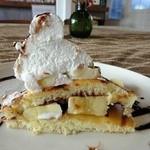 30695357 - チョコバナナパンケーキ