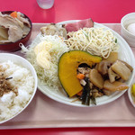 浜松トラックステーション内 浜松インター食堂 - 料理写真:朝食バイキング520円