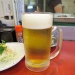 居酒屋 大黒 - 生ビール