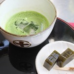 中村藤吉本店 - 冷薄茶「祥の昔」(380円)