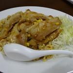 ラーメン専門店石橋 - 料理写真:焼き肉炒飯(餃子付き、960円)