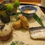 日本料理 太月 - 26年8月 八寸 アップ