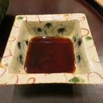 日本料理 太月 - 26年8月 岡先生の醤油皿