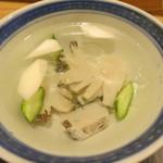 日本料理 太月 - 26年8月 水鮑 千葉黒鮑