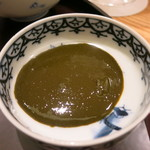 日本料理 太月 - 26年8月 鮑肝醤油