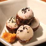 蕎麦懐石 無庵 - 石川小芋 (2014/09)