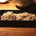 蕎麦懐石 無庵 - 碾きぐるみ (2014/09)