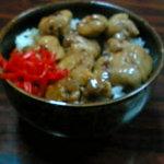 信州中野村 - 料理写真:焼き鳥丼
