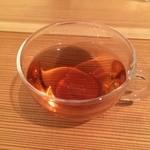煎茶と靴下、そして薬草 - 野遊 ほうじ茶+゚。*(*´∀`*)*。゚+