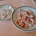 仙臺麺屋 しゃも - 叉焼ごはん150円
