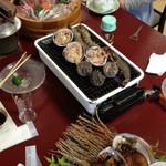 明山荘 - 料理写真:今から由岐の海鮮頂きます
