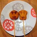 でんでん串 - 串揚げ(アンパンマン&食パンマン)