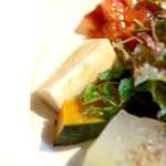 Cucina Italiana 東洞 - 鳴門金時のローストとすずかぼちゃ  '14 9月上旬