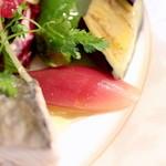 Cucina Italiana 東洞 - みょうがのアグロドルチェ  '14 9月上旬