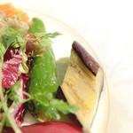 Cucina Italiana 東洞 - 鷹峯とうがらしのソットオーリオ(オイル漬け)と茄子のマリネ  '14 9月上旬