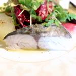 Cucina Italiana 東洞 - さわらの低温調理  '14 9月上旬