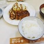 30705835 - ランチメニュー「ひれかつ」(1000円)