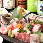 秋葉原漁港 快海 - これが快海の「大漁盛り」他店とは鮮度も味も全然違いますよ。