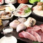 秋葉原漁港 快海 - 季節の鮮魚を刺身、しゃぶしゃぶ、焼物、煮物、揚物で。