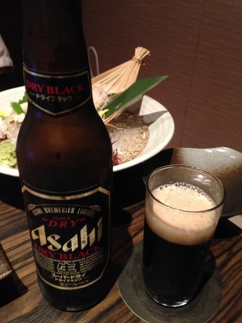 楽蔵 日暮里店 - 黒ビール小瓶