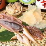 秋葉原漁港 快海 - 酒が進む「干物」もご用意しております。