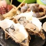 秋葉原漁港 快海 - 秋から冬に向けて美味しさが増す「牡蠣」