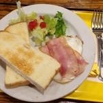 フレッシュネスバーガー - 西鉄インの朝食セット