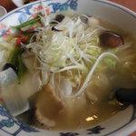 ラーメン玄咲 - 龍舟麺890円
