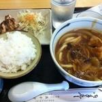 五十守 - うどんカレー定食¥700