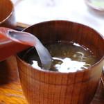 30712556 - 蕎麦湯