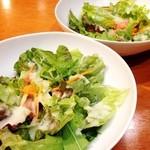 30714540 - ランチのサラダ☆