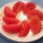 cafe 膳 八起 - 冷やしトマト
