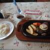 ステーキ豊 - 料理写真:ヒレステーキランチ\2400。これにスープとドリンクも付きます