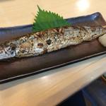 すし三崎丸 - 秋刀魚焼き