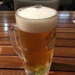 海鮮市場 長崎港 - 生ビール(キリン)620円