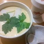 なか屋 - 茶碗蒸し大盛りとヒレ酒^^美味しいです^^