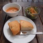 DBL CAFE DINER - パン&スープ&サラダ