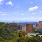 ホテルクレメント徳島 - 部屋から眺める景色♪部屋にはミニバーもあります☆