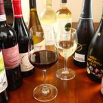 本日のグラスワイン【赤・白】 各3種