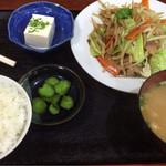 和 - 野菜炒め定食