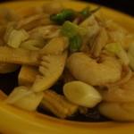 中国料理 布袋 - 海老の塩炒め